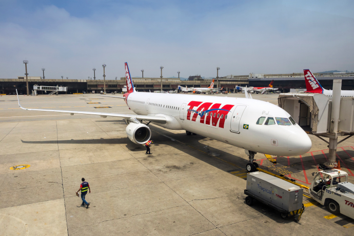 BRB Airport is a hub for Gol Airlines and LATAM.